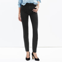 """Taller 10"""" High-Rise Skinny Jeans in Captain Wash : shopmadewell extended sizes   Madewell"""