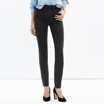 "Taller 10"" High-Rise Skinny Jeans in Captain Wash : shopmadewell extended sizes 