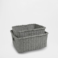 RECTANGULAR PAPER BASKET - Baskets - Bathroom | Zara Home United States