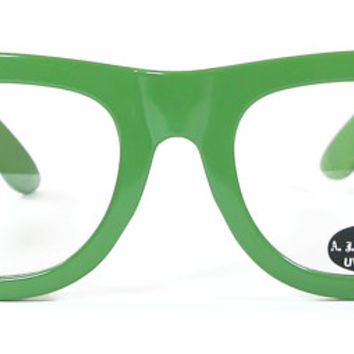 Eye Glasses in Green by A J Morgan, Unisex, Womens or Mens