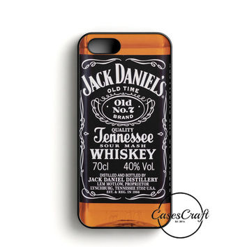 Jack Daniels Black Label iPhone 5/5S/SE Case