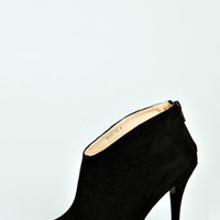 Polly Suedette Ankle Boot