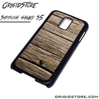 Old Dark Wood Case For Samsung Galaxy S5 Case
