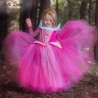 Sleeping Beauty Princess Girl Dress Kids Costume 4-10 Years