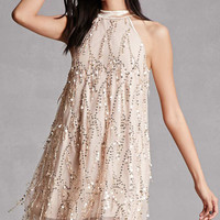 Sequin Swing Dress