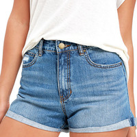 Billabong Overdrive Medium Wash Denim Shorts