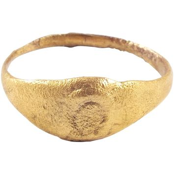 EARLY CHRISTIAN RING EASTERN ROMAN EMPIRE C.6th-9th CENTURY