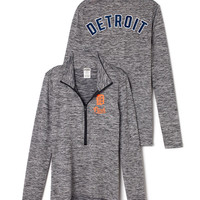 Detroit Tigers Ultimate Deep Zip - PINK - Victoria's Secret