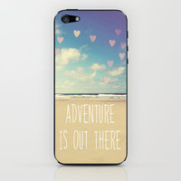 adventure is out there iPhone & iPod Skin by Sylvia Cook Photography