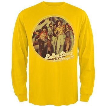 Rolling Stones - Tour Of Europe 76 Long Sleeve T-Shirt