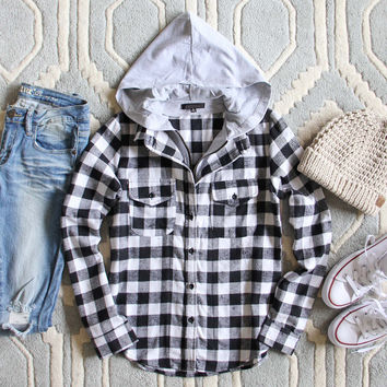 The Spokane Plaid Hoodie