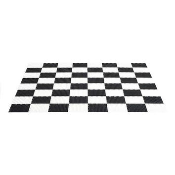 MegaChess Garden Checkers Game Board - Plastic - Garden Size '