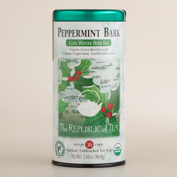 The Republic of Tea Peppermint Bark Tea, 36-Count - World Market