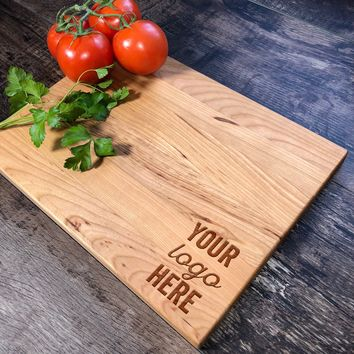 Personalized Cutting Board. Your Logo Engraved #35