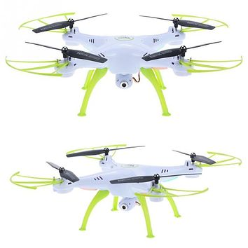 SYMA X5HC 2.4GHz 4CH 6-axis Gyro RC Quadcopter RC Drone With 2.0MP HD Camera 360 Eversion CF Mode Hover Function