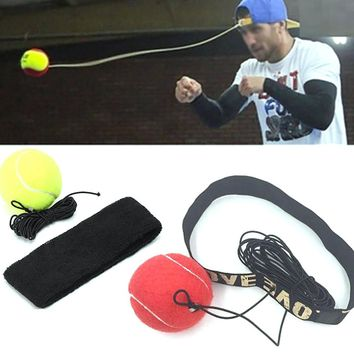 HOT SALE NEW Arrivals Fight Ball With Head Band For Reflex