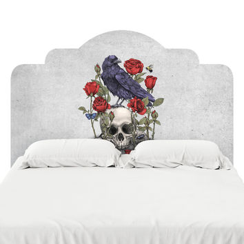 Memento Mori Headboard Decal