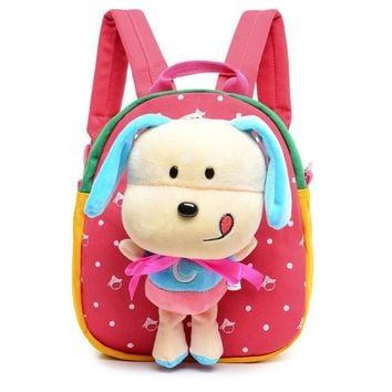 Cute Cartoon Baby Boy Small School bags Children Satchel kindergarten Baby Girls Bag Children's Backpacks for Age 0-3  BB52
