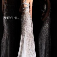 Sherri Hill Dress 8514 at Peaches Boutique