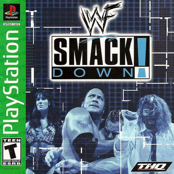WWF Smackdown - Greatest Hits - Sony PlayStation (Very Good)