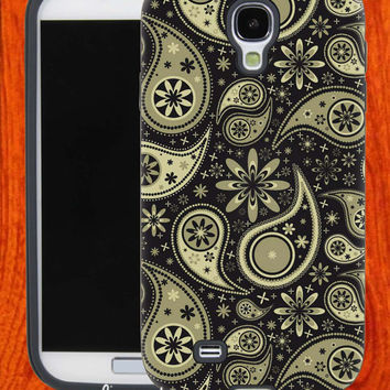 Brown paisley,Accessories,Case,Cell Phone,iPhone 4/4S,iPhone 5/5S/5C,Samsung Galaxy S3,Samsung Galaxy S4,Rubber,27-11-22-Hk