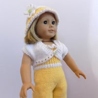 Doll Outfit, Knit Doll Clothes, AG Doll Outfit