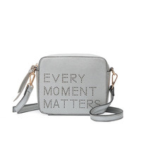 Celine Quote Crossbody | Silver