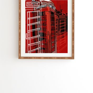 Aimee St Hill Phone Box Framed Wall Art