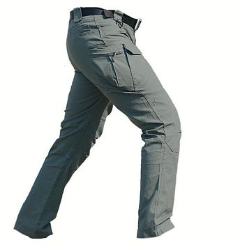 IX7 Tactical Pants Cargo Mens Special Forces Combat SWAT Hunter Army Military Pants Hombres Paintball Clothes Combat Trousers