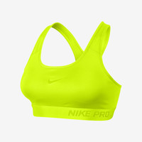 Nike Pro Padded Women's Sports Bra - Volt