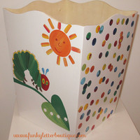 The Very Hungry Caterpillar Wastebasket