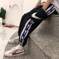 DCCK Nike vintage stitched ankle pants, matching