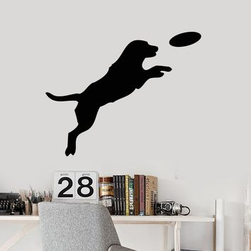 Vinyl Wall Decal Puppy Dog Pet House Animals Game Stickers (2498ig)