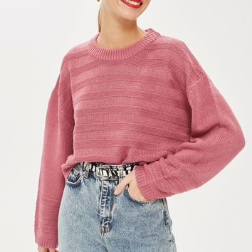 Ottoman Cropped Jumper | Topshop