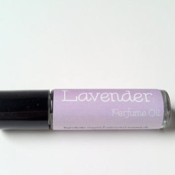 Lavender Perfume Oil by ZEN-ful, All Natural Perfume, Roll On Perfume, Cologne, Fragrance, Gift Ideas, Gifts For Her