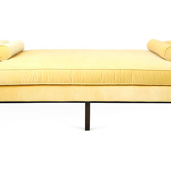 "Anne 84"" Velvet Day Chaise, Key Lime, Daybeds"