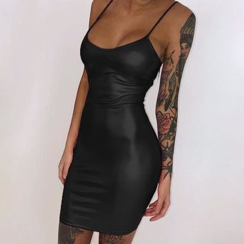 Moto Cocktail Dress