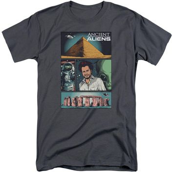 Ancient Aliens - Aliens Comic Page Short Sleeve Adult Tall