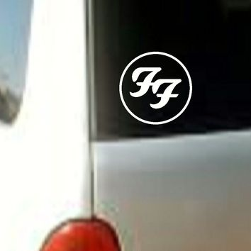 Foo Fighters MUSIC BAND VINYL DECAL STICKER CAR TRUCK LAPTOP