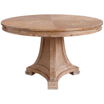 Blair Center/ Dining Table | Natural