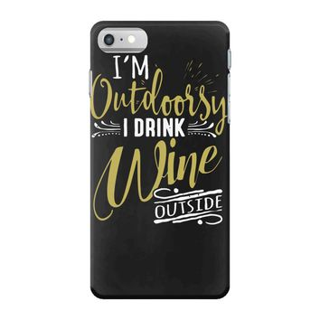 wine outside iPhone 7 Case