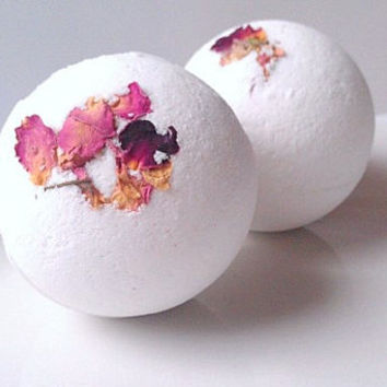 Rose Bath Bomb All Natural, Essential Oil Bath Bombs, All Natural Bath Bombs, Valentines Day Gift Ideas, Gifts For Her