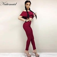 2016 Summer Women pants Long pencil pants high waist 2 peice women sets bodycon Feml High waist Pants & Capris Slim Trousers
