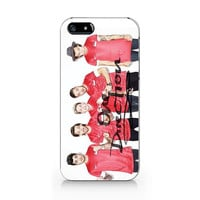 1D One direction iPhone-Keep calm and love 1D, 5 5S case, iPhone 4 4S case, Free shipping M122