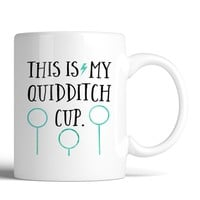 Harry Potter This Is My Quidditch Cup 11oz Mug