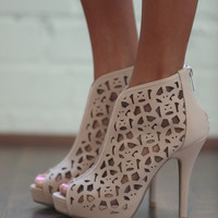 Charlies Angels Booties Taupe