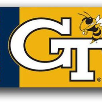 Georgia Tech Yellow Jackets 3x5 Outdoor Flag Banner Football 049 University of