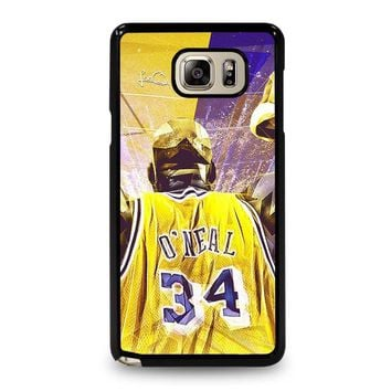 SHAQUILLE O'NEAL LA LAKERS Samsung Galaxy Note 5 Case Cover