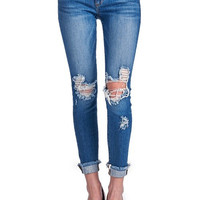 Cella Distressed Jeans