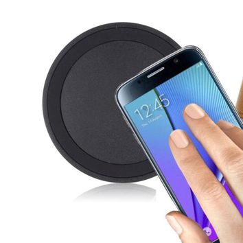 Colorful Universal Qi Wireless Power Charger For Samsung Galaxy Phones